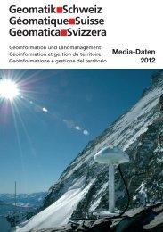 Terminplan Geomatik Schweiz 2012 - SIGImedia AG