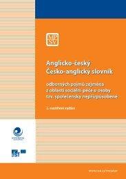 Anglicko-český Česko-anglický slovník - Ostravská univerzita v ...