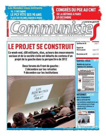 Communistes n° 415 - Pcf