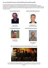 Der neue Schiedsrichterausschuss im Bezirk Offenburg ...