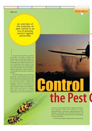 est Control - Government of Kerala