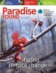 facing climate change - Royal Botanical Gardens