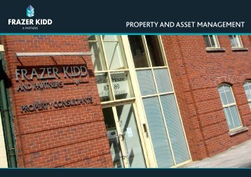Property and Asset Management Brochure - Frazer Kidd