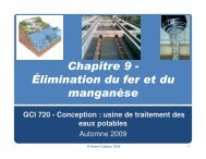 (Microsoft PowerPoint - Chapitre 9-\311limination Fe et Mn)