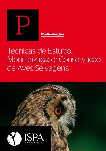 Técnicas de Estudo, Monitorização e Conservação de Aves ... - spea