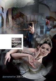 abonnementen 2010   2011 - Het Nationale Ballet