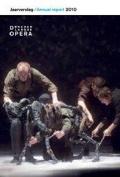 Jaarverslag 2010 De Nederlandse Opera