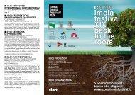 Programma Corto Imola Festival 2012 - download
