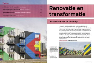 Open artikel de Architect - BAVAVLA