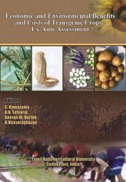Economic and Environmental Benefits and Costs of Transgenic Crops