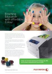 Solid Ink providing benefits to Education - Fuji Xerox Printers