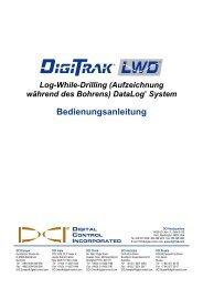 Benutzen der Software - Digital Control Inc.