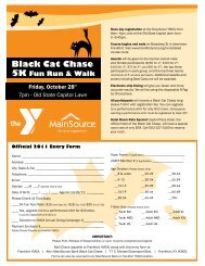 Black Cat Chase - Frankfort YMCA