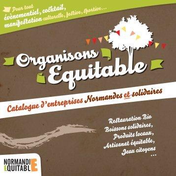 Catalogue - Normandie équitable - WordPress.com