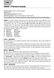 SMART | Průřezové metody - NIDM