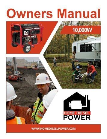 Owners Manual PDF - Home Diesel Power - Affordable Diesel ...