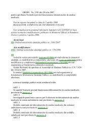 ORDIN Nr. 1301 din 20 iulie 2007 pentru aprobarea Normelor ...