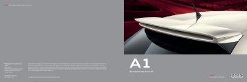 Catalogo Accessori - Audi