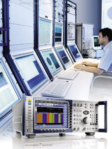 The radiomonitoring specialist - Rohde & Schwarz