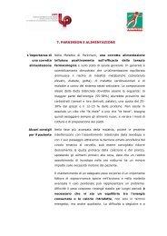 7. PARKINSON E ALIMENTAZIONE - Nannimagazine.it