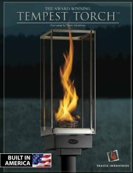 Features & Options Installation Options - Tempest Torch