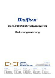 DigiTrak - Digital Control Inc.
