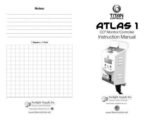 Atlas 1 Instruction Manual - Titan Controls