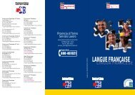 LANGUE FRANÇAISE - Provincia di Torino