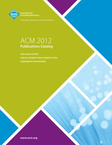 ACM 2012 - The ACM Digital Library