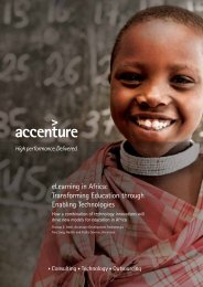 elearning in Africa: Transforming Education through Enabling ...