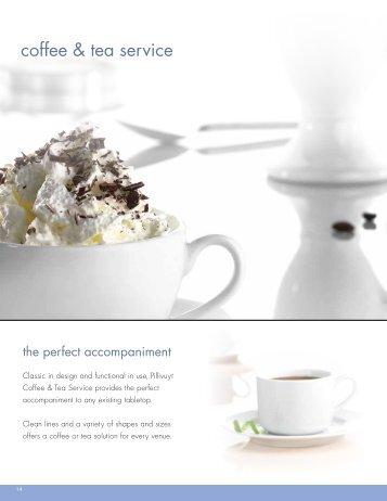 coffee & tea service - Steelite International