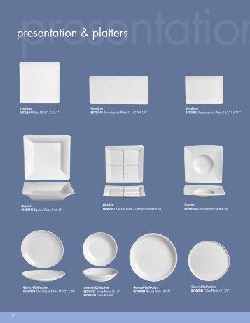 presentation & platters - Steelite International