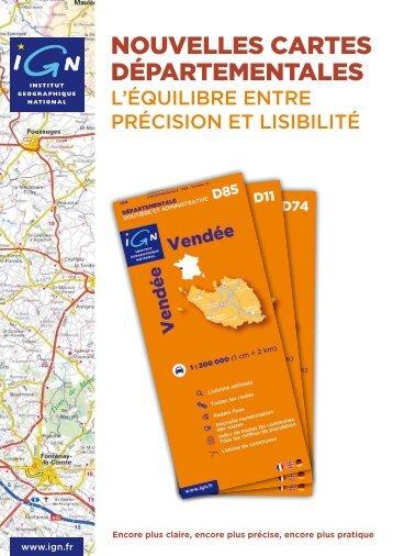 Tableau d'assemblage des cartes départementales - Espace ...