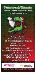 Flyer als PDF anzeigen - Steinbruch-Theater