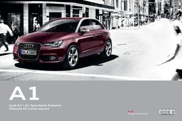 Audi A1 | A1 Sportback Zubehör lifestyle kit union square