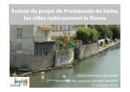 présenté le projet de Promenade de Seine - AUDESO