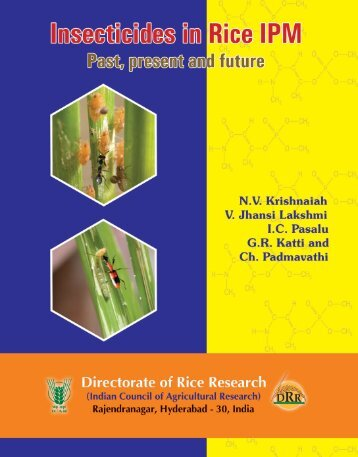 priciples of insecticide use in rice ipm