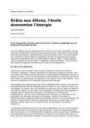 Publié par Tribune de Genève (http://www - Terragir