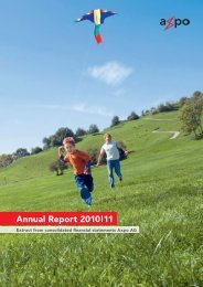 Annual Report 2010 11 - Axpo Group