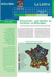 attractivité des zones emploi RA - Région Rhône-Alpes