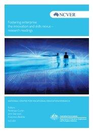 Fostering enterprise: the innovation and skills nexus