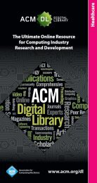 Healthcare - The ACM Digital Library