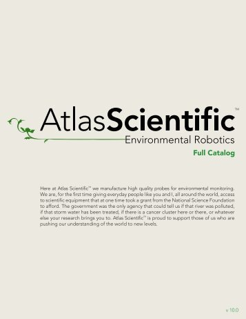 Full Catalog - Atlas Scientific