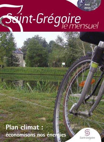 Saint-Grégoire, le Mensuel Avril 2010