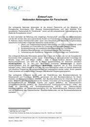 Nationaler Aktionsplan f. Forschende