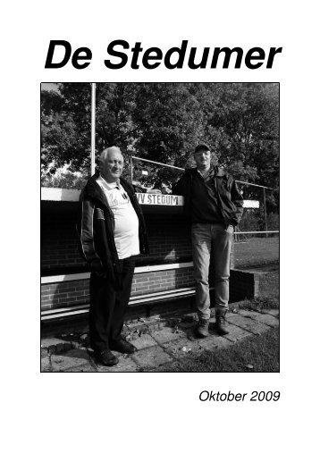 Klik hier voor de Stedumer van oktober 2009 - Stedum.Com