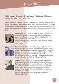 Prix et Bourse Edouard Glissant Programme ... - Université Paris 8 - Page 7