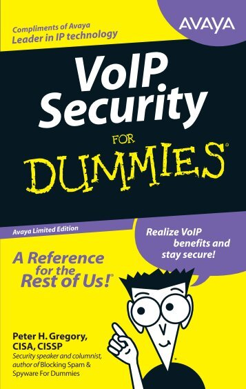 VoIP Security for Dummies - Pennine Telecom