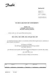 EU-DECLARATION OF CONFORMITY AKA 243A, AKA 243B, AKA ...