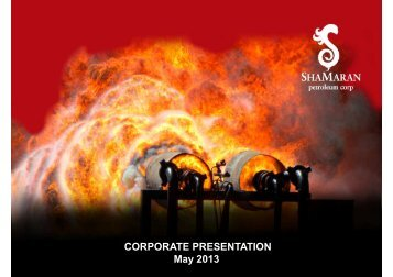 Corporate Presentation - May 2013 - ShaMaran Petroleum Corp ...